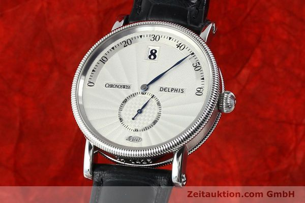 CHRONOSWISS DELPHIS STEEL AUTOMATIC KAL. C124  [141770]