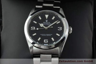 ROLEX EXPLORER STEEL AUTOMATIC KAL. 3000 [141779]