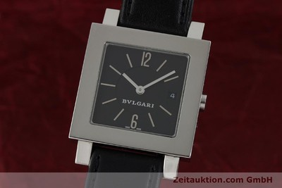 BVLGARI QUADRATO STEEL QUARTZ [141794]