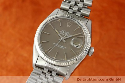 ROLEX DATEJUST ACIER / OR AUTOMATIQUE KAL. 3035 [141795]