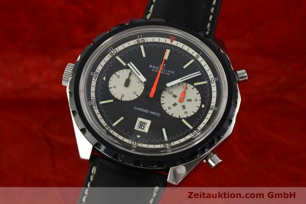 BREITLING CHRONO-MATIC CHRONOGRAPHE ACIER AUTOMATIQUE KAL. 11 LP: 5650EUR [141801]