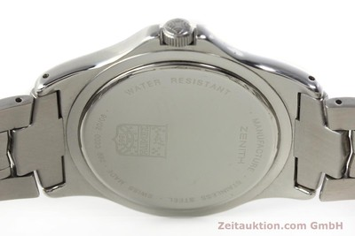 ZENITH ELITE STEEL AUTOMATIC KAL. 682 LP: 4900EUR [141802]