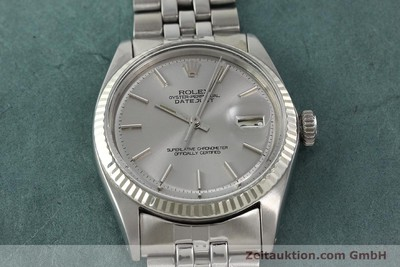 ROLEX DATEJUST ACIER / OR AUTOMATIQUE KAL. 1570 [141803]