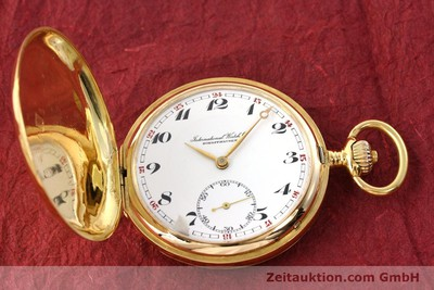 IWC TASCHENUHR 14 CT YELLOW GOLD MANUAL WINDING KAL. H6 [141804]