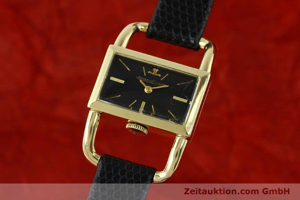 JAEGER LE COULTRE ETRIER 18 CT GOLD MANUAL WINDING KAL. K840 VINTAGE [141807]