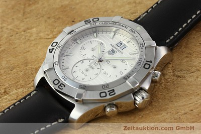 TAG HEUER AQUARACER CHRONOGRAPH STEEL AUTOMATIC LP: 1800EUR [141819]