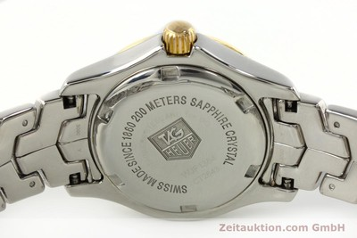 TAG HEUER LINK LADY STAHL / GOLD DIAMANTEN DAMENUHR WJF1354 VP: 4150,- EURO [141834]