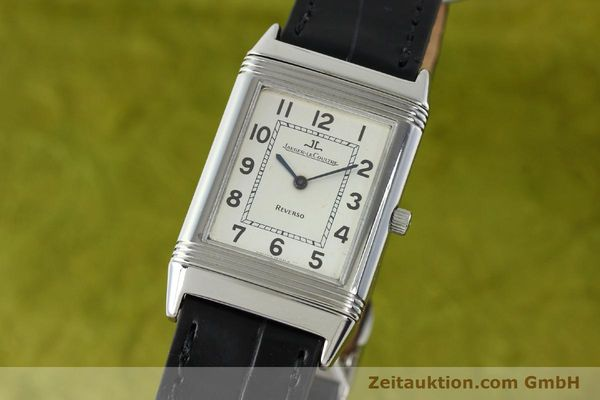 JAEGER LE COULTRE REVERSO STEEL MANUAL WINDING KAL. 846 [141835]