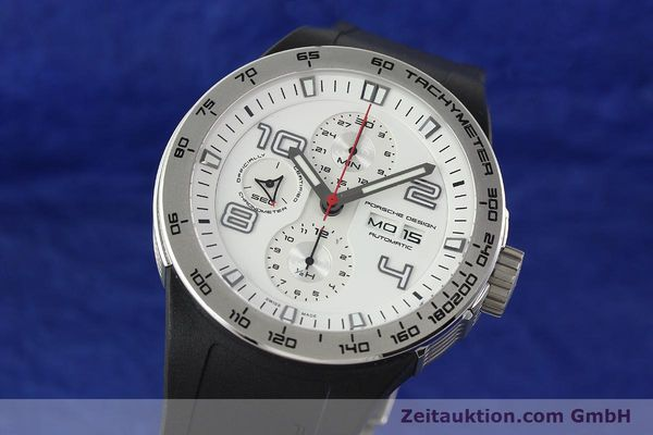 PORSCHE DESIGN FLAT SIX STEEL AUTOMATIC KAL. ETA 7750 [141839]