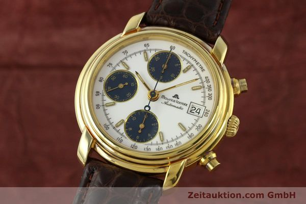 MAURICE LACROIX CRONEO CHRONOGRAPH GOLD-PLATED AUTOMATIC KAL. VALJ. 7750 [141852]