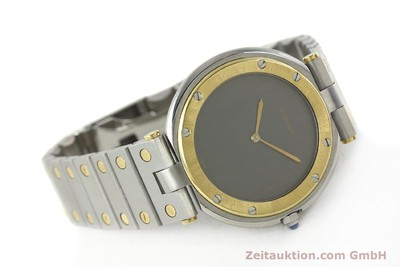 CARTIER SANTOS RONDE STEEL / GOLD QUARTZ KAL. 81 [141858]
