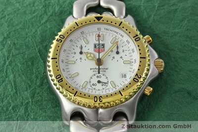 TAG HEUER PROFESSIONAL 200M CHRONOGRAPH STAHL/GOLD CG1120-0 VP: 2300,- EURO [141874]