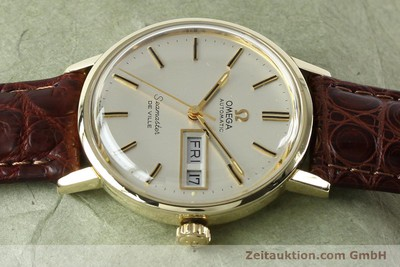 OMEGA SEAMASTER 14 CT YELLOW GOLD AUTOMATIC KAL. 1020 VINTAGE [141878]