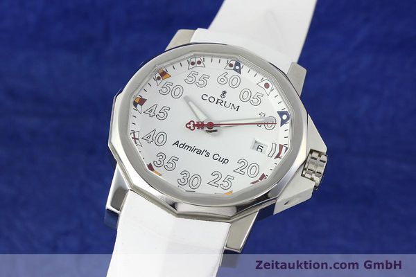 CORUM ADMIRALS CUP 40 COMPETITION WHITE HERRENUHR AUTOMATIK 01.0010 VP: 3725,- Euro [141888]