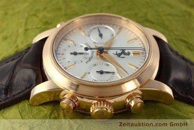 GIRARD PERREGAUX FERRARI CHRONOGRAPHE OR ROUGE 18 CT AUTOMATIQUE KAL. 8290 [141892]