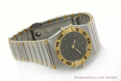 OMEGA LADY CONSTELLATION GOLD / STAHL DAMENUHR VP: 3960,- EURO [141895]