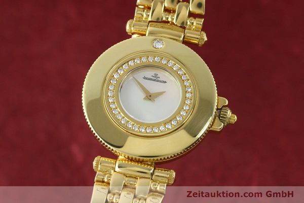 JAEGER LE COULTRE RENDESVOUS ORO 18 CT QUARZO KAL. 601  [141901]