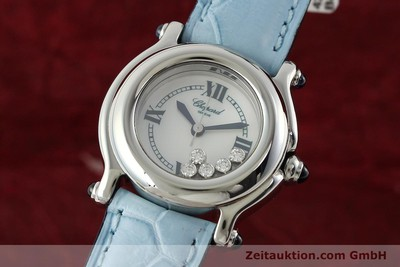 CHOPARD HAPPY SPORT STEEL QUARTZ KAL. ETA 956102 [141914]