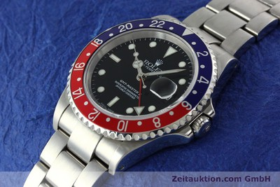 ROLEX GMT-MASTER II STEEL AUTOMATIC KAL. 3135 [141920]