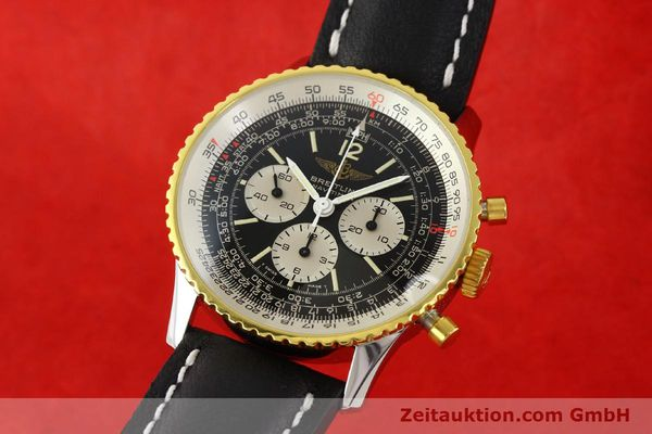 BREITLING NAVITIMER CHRONOGRAPH GILT STEEL MANUAL WINDING KAL. LEMANIA 1873 LP: 6680EUR [141921]