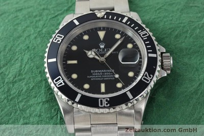 ROLEX SUBMARINER STEEL AUTOMATIC KAL. 3135 [141923]