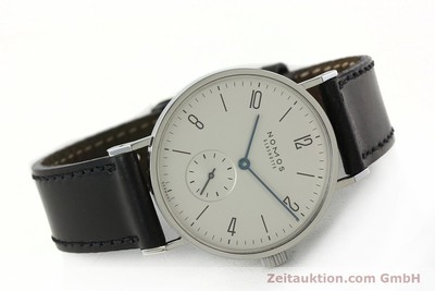 NOMOS TANGENTE STEEL MANUAL WINDING KAL. ALPHA 27033 [141927]