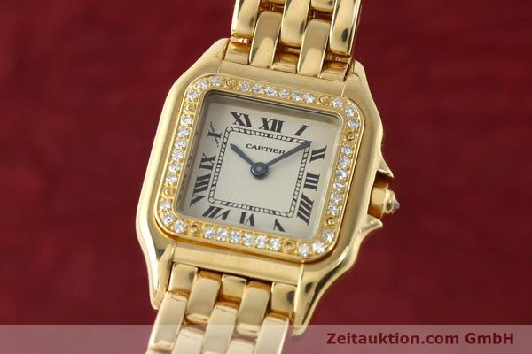CARTIER PANTHERE ORO 18 CT QUARZO KAL. 157 [141936]