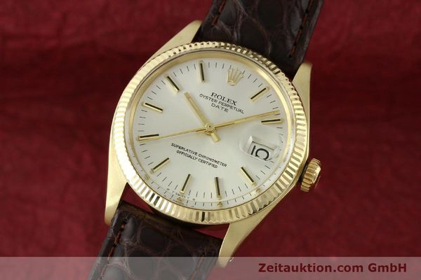 ROLEX DATE 14 CT YELLOW GOLD AUTOMATIC KAL. 1570 [141939]