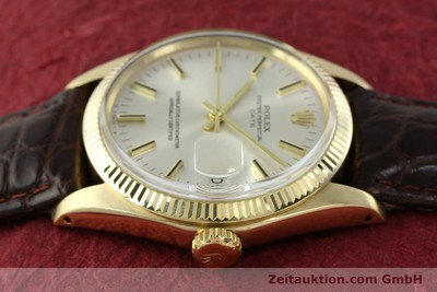ROLEX DATE OR JAUNEN 14 CT AUTOMATIQUE KAL. 1570 [141939]