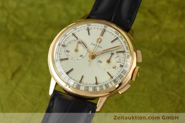 OMEGA CHRONOGRAPH 18 CT GOLD MANUAL WINDING KAL. 320 [141951]