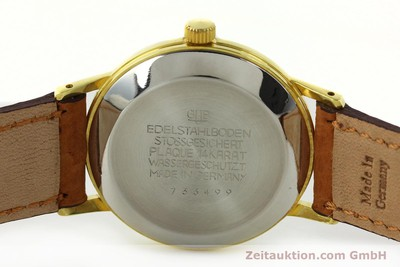 GLASHÜTTE SPEZIMATIC GOLD-PLATED AUTOMATIC KAL. 75 [141952]