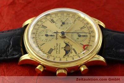 CHRONOSWISS A. ROCHAT CHRONOGRAPH GOLD-PLATED AUTOMATIC KAL. VAL 7750 [141963]