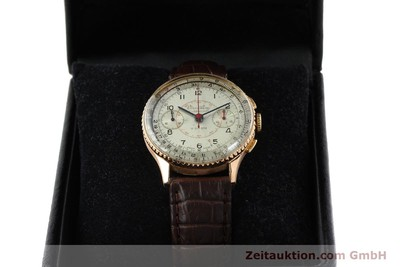 BREITLING CHRONOMAT CHRONOGRAPH 18 CT GOLD MANUAL WINDING [141965]