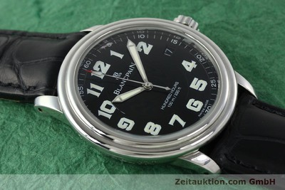 BLANCPAIN LEMAN HUNDRED HOURS 100M AUTOMATIK STAHL HERRENUHR VP: 7020,- Euro [141967]