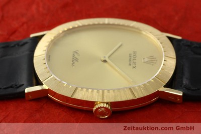 ROLEX CELLINI 18 CT GOLD MANUAL WINDING KAL. 1601 [141969]