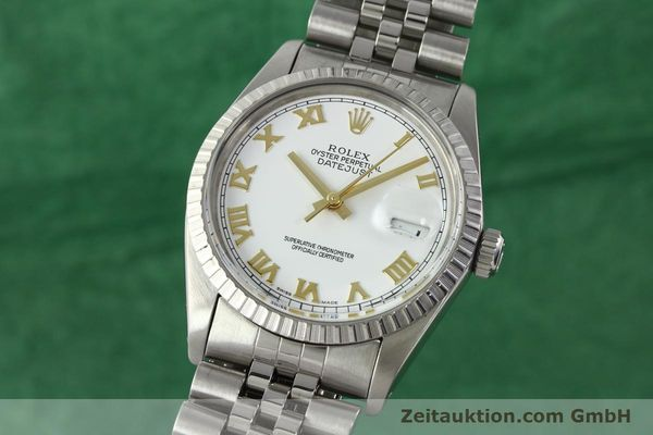 ROLEX DATEJUST STEEL AUTOMATIC KAL. 3035 [141976]