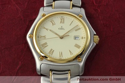 EBEL 1911 STEEL / GOLD QUARTZ KAL. 87 [141987]