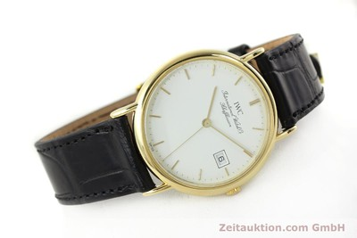 IWC PORTOFINO OR 18 CT QUARTZ KAL. 2210 ETA 255411 LP: 10700EUR [141989]