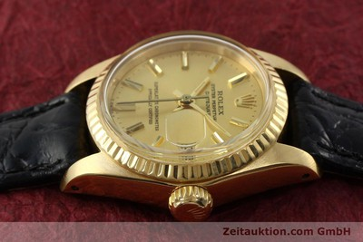 ROLEX LADY DATEJUST OR 18 CT AUTOMATIQUE KAL. 2030 [141993]