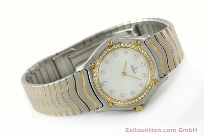 EBEL CLASSIC WAVE ACIER / OR QUARTZ KAL. 81 [141999]