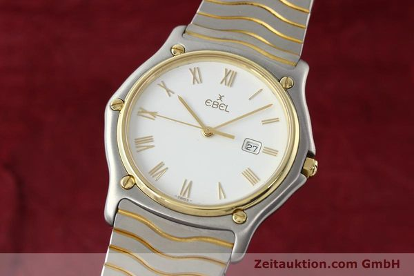 EBEL CLASSIC WAVE STEEL / GOLD QUARTZ KAL. 83 [142001]