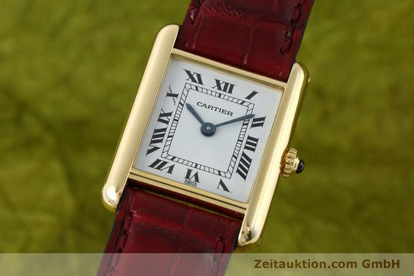 CARTIER TANK ORO 18 CT QUARZO KAL. 057 [142002]