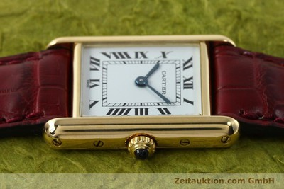 CARTIER TANK 18K GOLD QUARZ KAL.057 [142002]