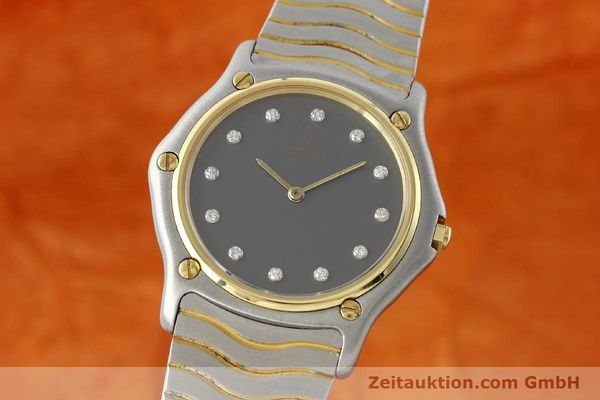 EBEL CLASSIC WAVE STEEL / GOLD QUARTZ KAL. 81 [142019]