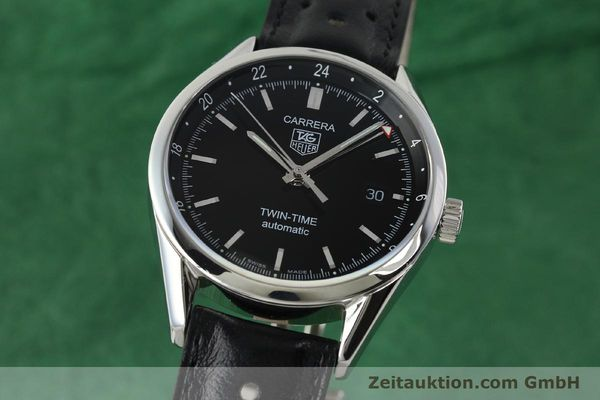 TAG HEUER CARRERA STEEL AUTOMATIC KAL. 7 ETA 2893-2 LP: 2600EUR [142023]