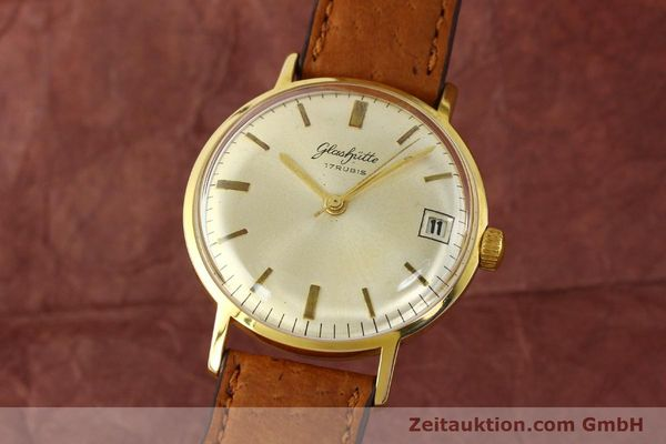 GLASHÜTTE HANDAUFZUG 69.1 HERRENUHR ORIGINAL DATUM SELTENHEIT TOP [142031]