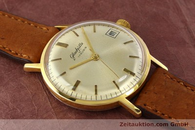 GLASHÜTTE GOLD-PLATED MANUAL WINDING KAL. 69.1 [142031]