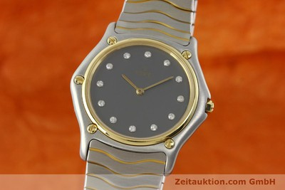 EBEL CLASSIC WAVE STEEL / GOLD QUARTZ KAL. 81 [142041]