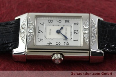 JAEGER LE COULTRE REVERSO 18 CT WHITE GOLD MANUAL WINDING KAL. 488 [142048]