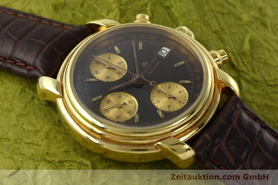 MAURICE LACROIX CRONEO CHRONOGRAPH GOLD-PLATED AUTOMATIC KAL. VAL 7750 [142061]